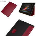 Leather Magnetic Smart Wake Case Cover Stand For Sony Xperia Tablet Z Free Ship