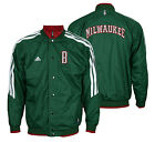 Adidas NBA Youth Milwaukee Bucks On Court Reversible Jacket