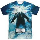 The Thing 1982 Movie Poster John Carpenter Sublimation ALL OVER Vintage T-shirt