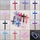 Wholesale Crystal Jet Metal Curved Cross Connector Bracelets Bead Findings Charm
