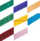 Classical 10mm 40/80pcs Class Jade Crystal DIY Spacer Beads For Jewelry Making