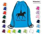 Personalised Horse, Pony Drawstring Bag Grooming Kit Equestrian Equine Rucksack