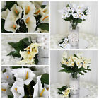 168 Silk Calla Lily Flowers for Wedding Bouquets Centerpieces Wholesale CHEAP