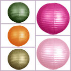 """12 pack 30"""" XL Paper LANTERNS Lamp Shades 11 Colors Wedding Party Decorations"""