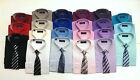 Men's Rael Brook Shirt and Tie Set 27 Colours Work Formal Business Casual BNWT