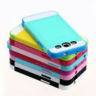 Hybrid Best Impact Dual Layer Bumper Hard Case Cover For Samsung Galaxy S3 i9300
