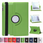 NEW For Apple iPad 2 3 4 360° Rotatable Smart Polyurethane Leather Case Cover
