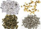 150pcs Silver/Gold/Bronze Earplug Ear Nut Earring Findings Back Stopper 6mm