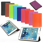 GENUINE AUGUST® LEATHER THIN CASE COVER WITH UNIQUE STAND FOR APPLE IPAD AIR