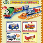 TOMY THOMAS PERCY HAPPY ACTION CARGO FREIGHT MOTORIZED TRAIN SET- 2 STYLE SELECT