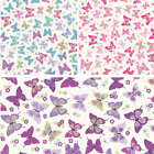 Flutterby Butterflies 100% Cotton Fabric