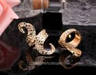 1pcs Unisex European Style Antique Bronze/Golden Big Ring To Choose