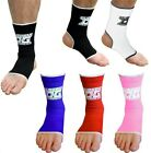 ANKLE SUPPORTS OR ANKLETS (PAIRS) FOR MMA MARTIAL ARTS THAIBOXING