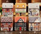 Mini Creative Vintage House Tinplate Coin Bag Storage Tin Box Jewelry Box AD032