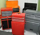 DJM DIRECT Metal Storage - Steel Top Chest Tool Box & Roller Cabinet Roll Cab