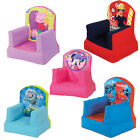 Choose from Childrens Boys Girls Inflatable Bedroom Playroom Cosy Chair Seat NEW