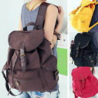 GK STOCK Women Casual Canvas Shoulder School Bag Backpack Satchel Bookbag Travel