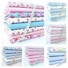 FQ BUNDLE - BABY BLUE/ PINK & BRIGHTS - nursery 100% COTTON FABRIC boy girl