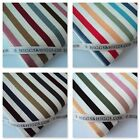 OXFORD STRIPE - CANVAS /  LINEN LOOK FABRIC natural 100% COTTON craft