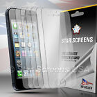 6x HD Clear LCD Screen Protector Cover Guard For Apple iPhone 5 5S 5C 5th 5 Gen