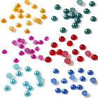 1800pcs Nail Art Color Candy Baby Pearl Rhinestones 2mm Tips 3D Decoration DIY