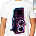 3D ROLLEIFLEX T-SHIRT. Modern Vintage Camera Unique Artwork, Indy Retro LSD