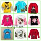 "New""Jumping Beans""Boys Girls Clothes Longsleeve Tops T-Shirt  Size0,1,2,3,4,5,6"