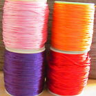 100yds /90 Mtrs Roll 2MM Rattail Satin Cord Thread - Kumihimo And Macrame Crafts