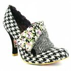 Irregular Choice 3614-03CF Womens Court Shos Black