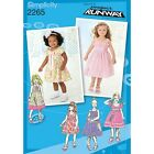 Toddlers & Childs Dresses Project Runway Collection  Sewing Pattern 2265