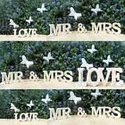 New White Wash Wooden Love Letters Plaque Sign Wedding Gift Top Table Decoration