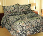 Woods Hunter Camo Comforter Camouflage Bedding Twin Queen King sizes