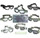 BRITISH ARMY SPECIAL FORCES STYLE COMMANDO TACTICAL GOGGLES CHOICE CAMO / LENS