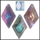 Crystal DIAMOND 50mm AB CLEAR, AB PINK or AB LILAC Suncatcher Drop Pendant