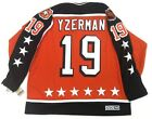 STEVE YZERMAN DETROIT RED WINGS 1984 CCM CAMPBELL ALL STAR JERSEY