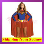 Sexy Super Woman Superhero Ladies Costume Cosplay Fancy Dress Up Party Holloween