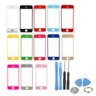 Color Apple Front Screen Glass Lens Replacement for iPhone 5 5G 5S 5C New