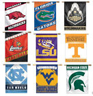 NCAA College Assorted Teams Vertical House Porch Banner Flags CLOSEOUT