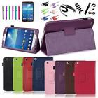 "Folding PU Leather Case Stand Cover For Samsung Galaxy Tab 3 8 8.0"" inch Tablet"