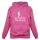 On The 8th Day Metal Detecting Was Created - Kids / Childrens Hoodie - Detector