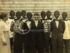 1916 BOYS IN BLACKFACE CHILD LABOR GLEE CLUB MA LEWIS HINE PHOTO Largest Sizes
