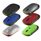 Ultra-Slim Mini USB Wireless Optical Wheel Mouse Mice for All Laptop HP Dell
