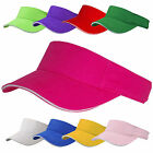 Plain Sun Visor - Hen Night Fancy Dress Pink Purple Sports Golf Tennis Cap Hat