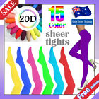 20D Pantyhose Tights Assorted Colour Sheer Stocking Hosiery for Dance Party