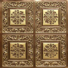 3D Embossed Faux Tin Decorative 24x24 PVC Ceiling Tile #203