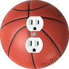 Coloriffic Basketball wall plate Switch Outlet Decora toggle blank Cable