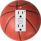 Coloriffic Basketball wall plate Switch Outlet Decora toggle blank Cable sport
