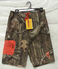 OFFICIALLY LICENSED BROWNING MOSSY OAK INFINITY BOARD SHORTS