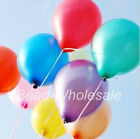 100pcs Wholesale Helium Balloon Party Wedding Birthday Decoration Latex Balloons