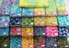 SARASOTA & GYPSY batik 100% cotton fabric flavor of India great swirls paisley